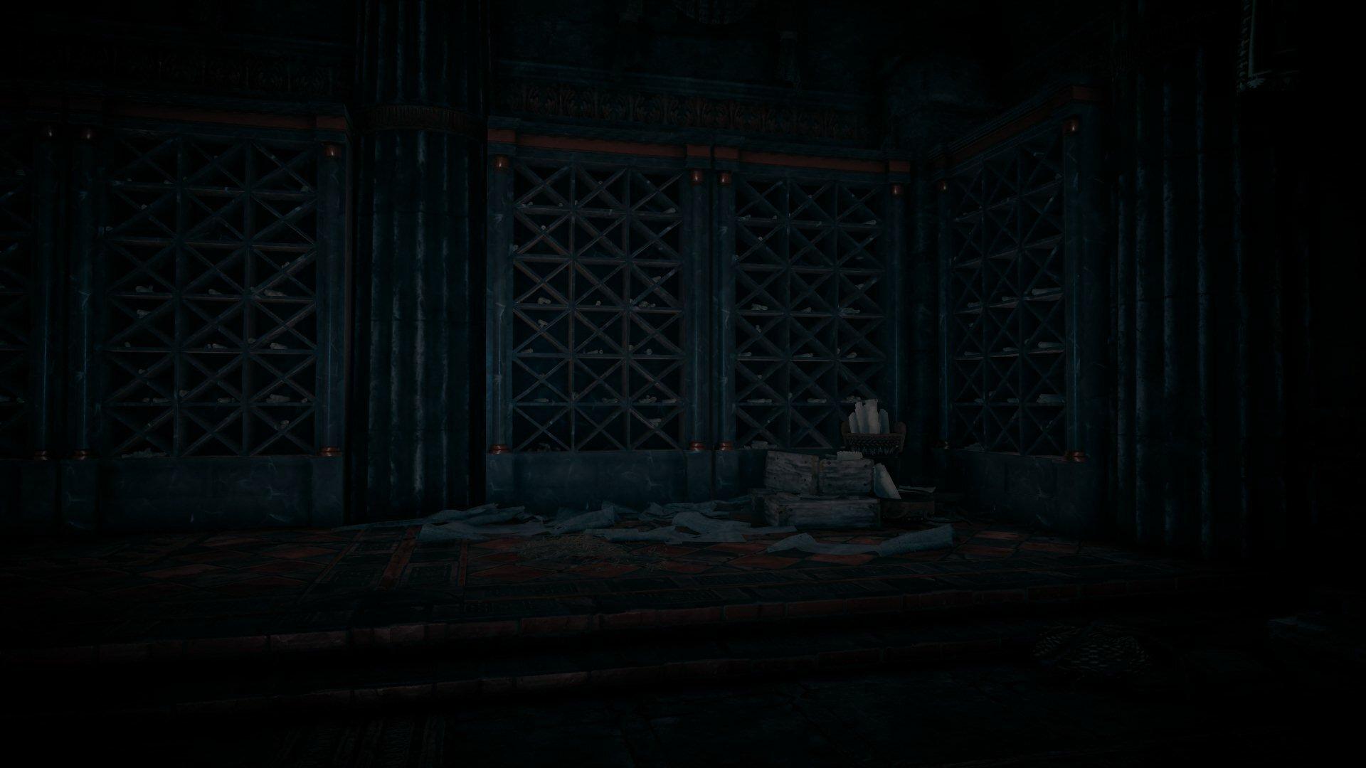 Biblioteca en el Hades
